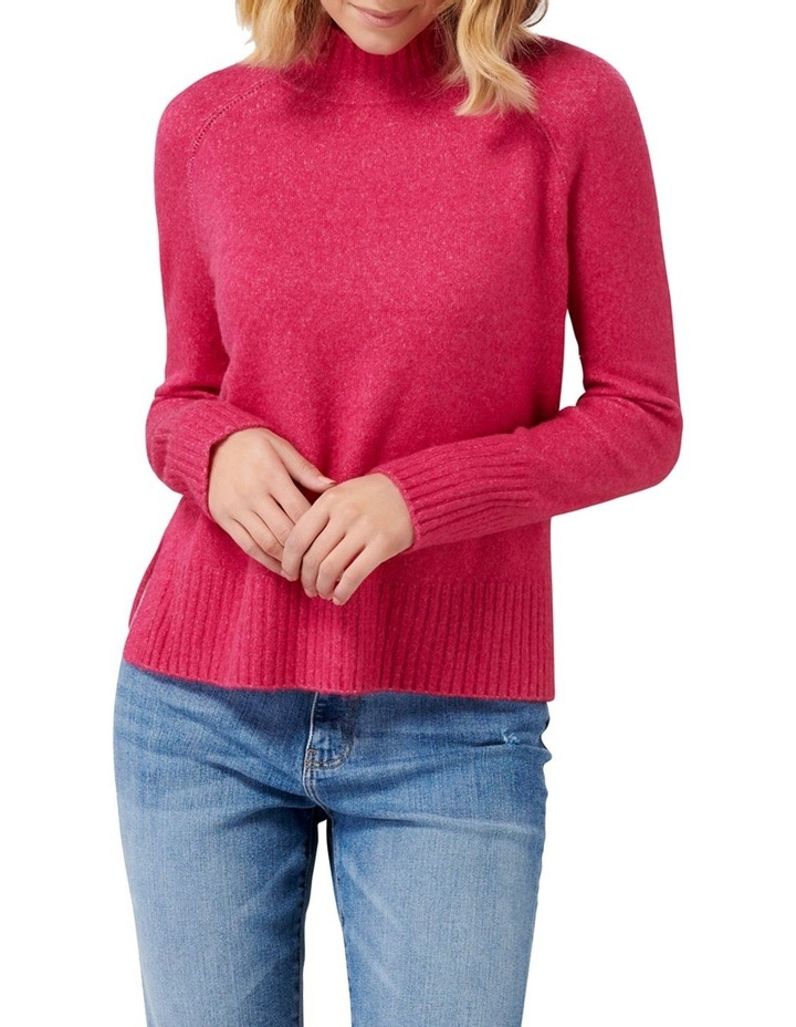 Ruby Stand Neck Essential Jumper image 1