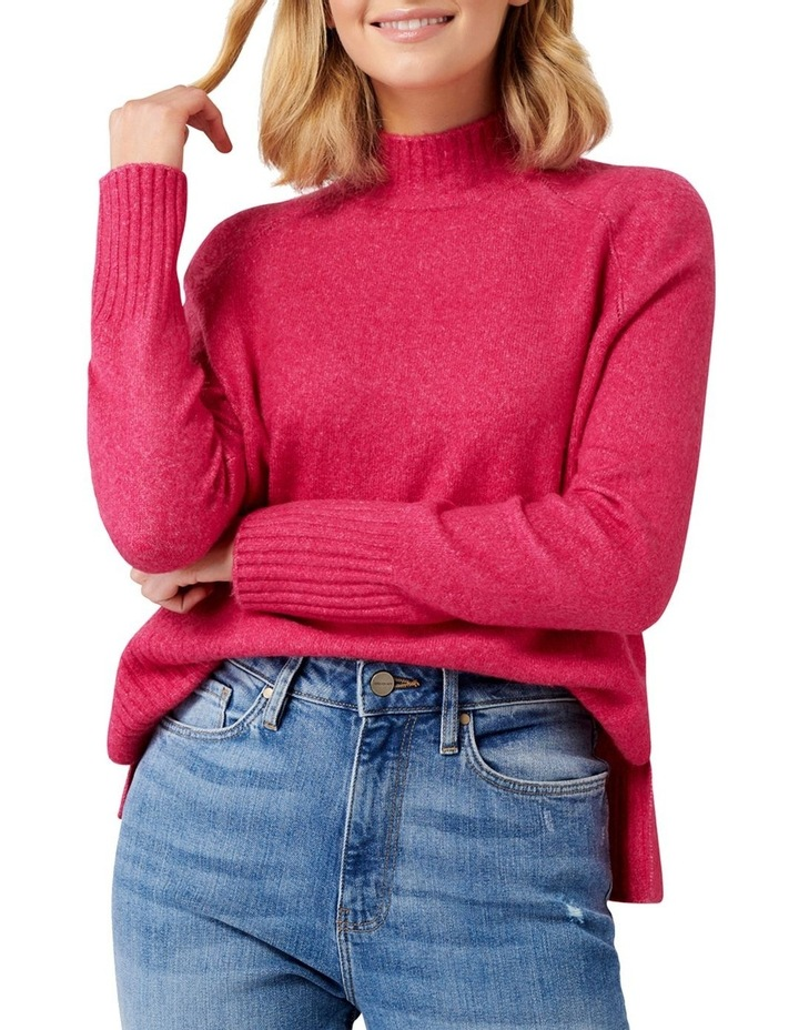 Ruby Stand Neck Essential Jumper image 2