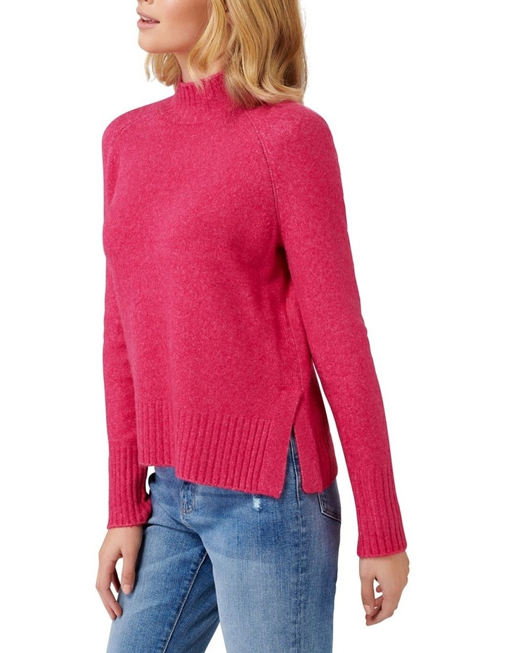 Ruby Stand Neck Essential Jumper image 3