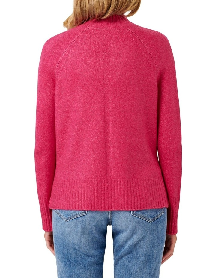Ruby Stand Neck Essential Jumper image 4
