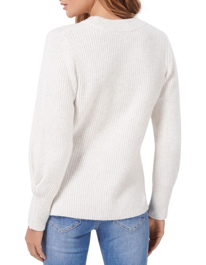 Suri Pleated Blouson Sleeve Jumper image 3
