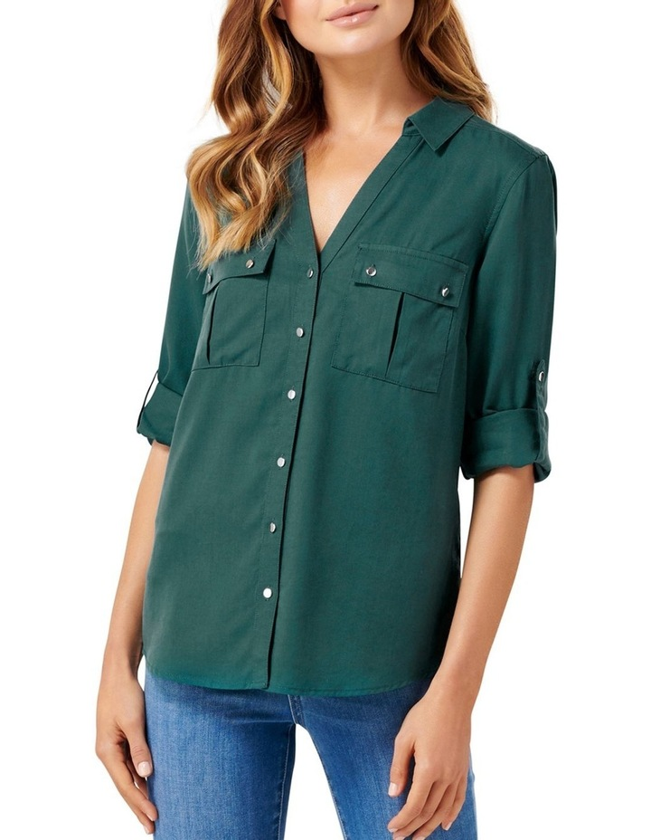 Lola Utility Roll Sleeve Shirt image 1
