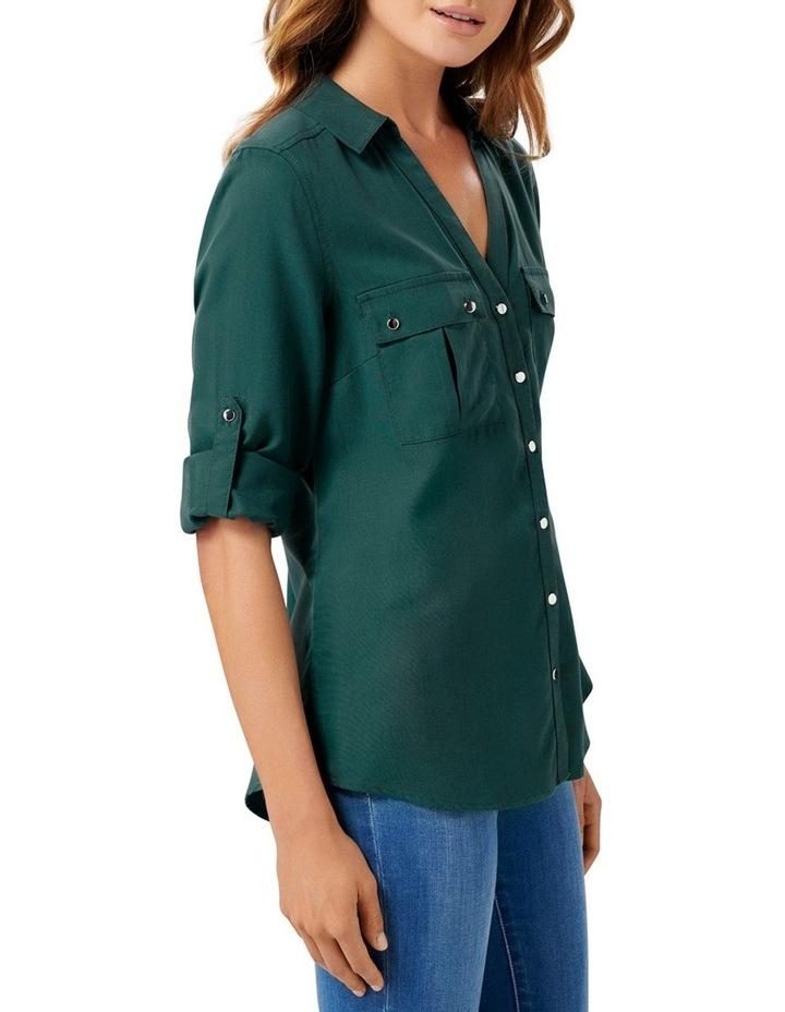 Lola Utility Roll Sleeve Shirt image 2