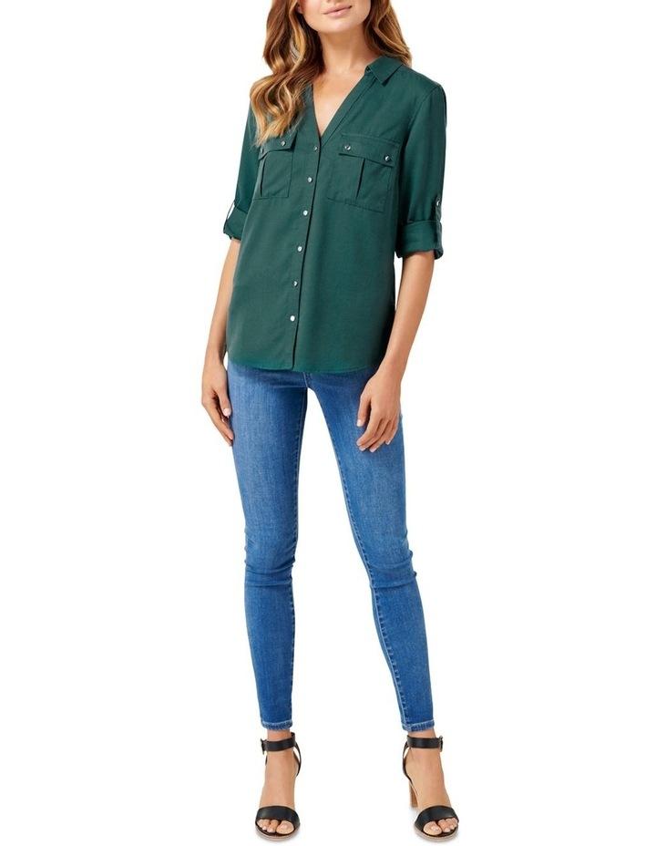 Lola Utility Roll Sleeve Shirt image 4