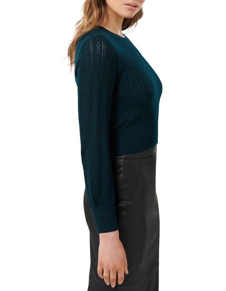 Imogen Crop Knitted Jumper image 2