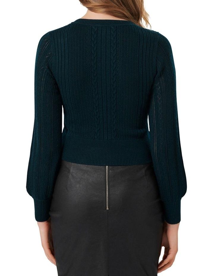 Imogen Crop Knitted Jumper image 3