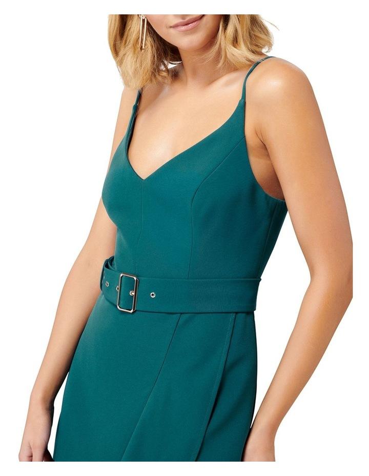 Isabella Belted Ruffle Hem Dress image 2
