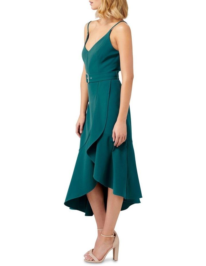 Isabella Belted Ruffle Hem Dress image 3