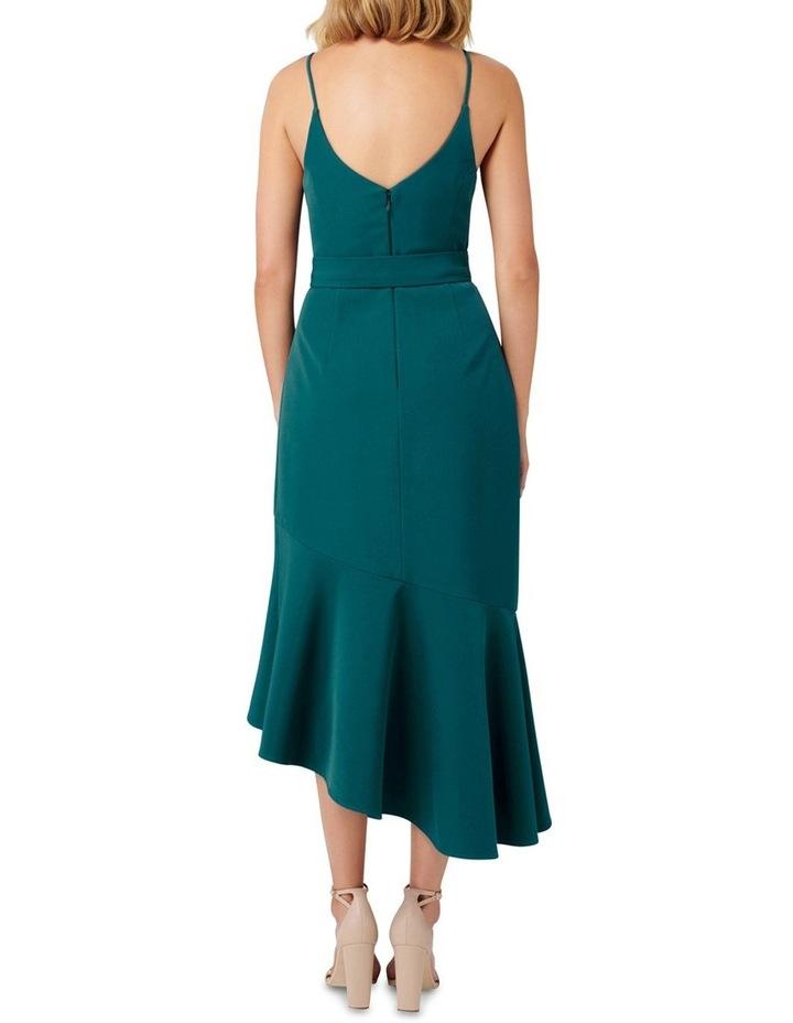 Isabella Belted Ruffle Hem Dress image 4