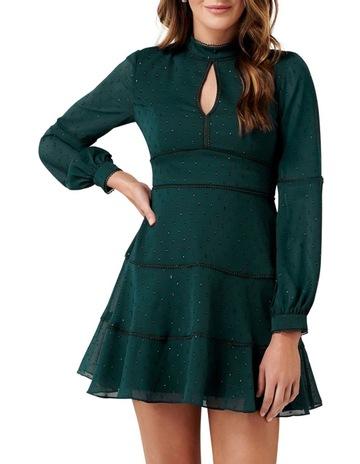 cc777c798962 Forever NewAnnika Blouson Sleeve Petite Skater Dress. Forever New Annika  Blouson Sleeve Petite Skater Dress