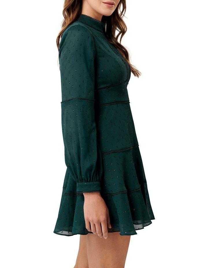 Annika Blouson Sleeve  Petite Skater Dress image 3
