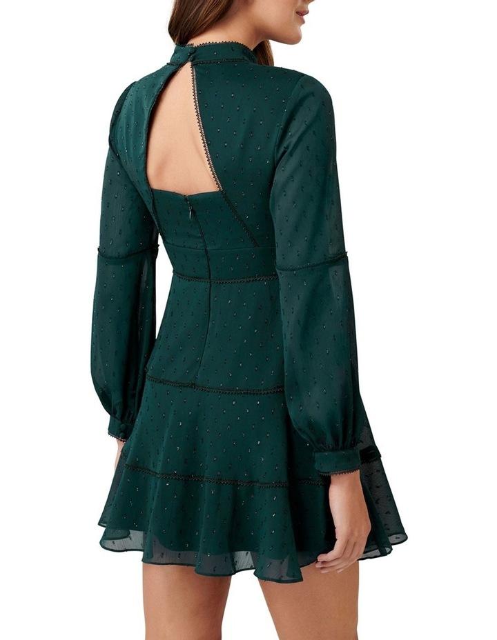 Annika Blouson Sleeve  Petite Skater Dress image 4