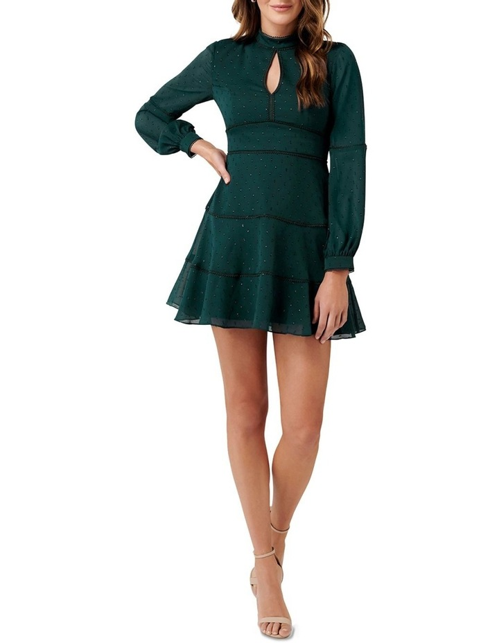 Annika Blouson Sleeve  Petite Skater Dress image 5