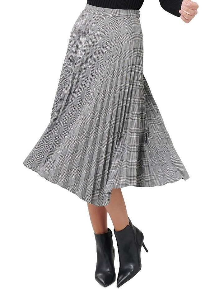 Adelyn Check Pleat Skirt image 1