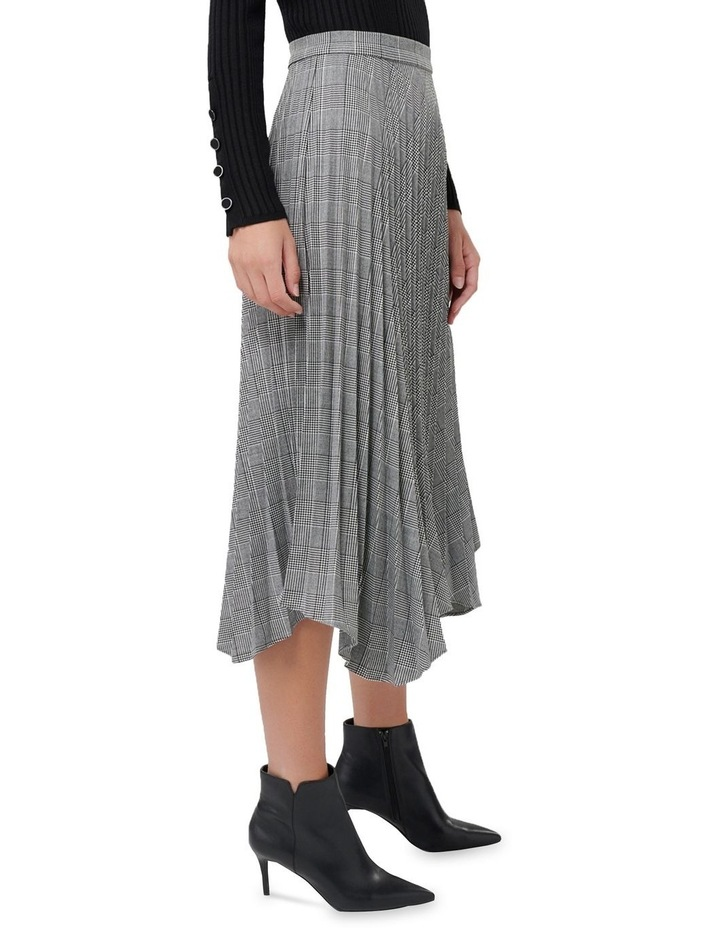 Adelyn Check Pleat Skirt image 2