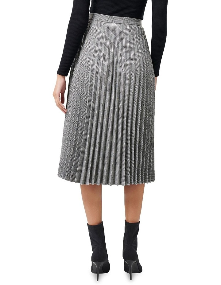 Adelyn Check Pleat Skirt image 3