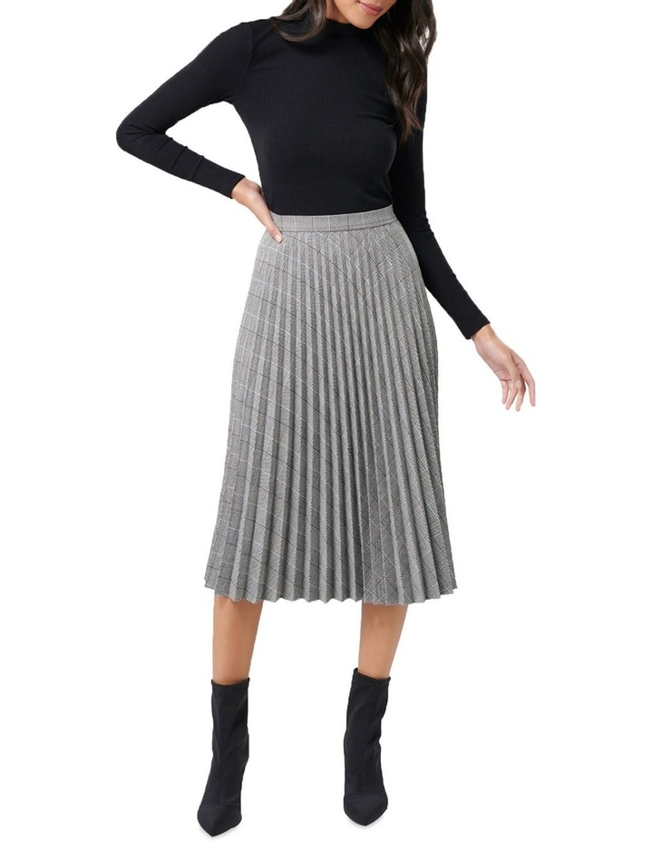 Adelyn Check Pleat Skirt image 4