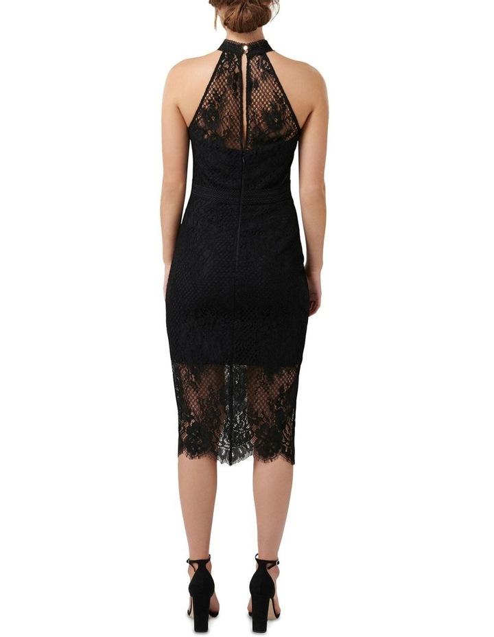 Lena High Neck Lace Bodcyon Dress image 4