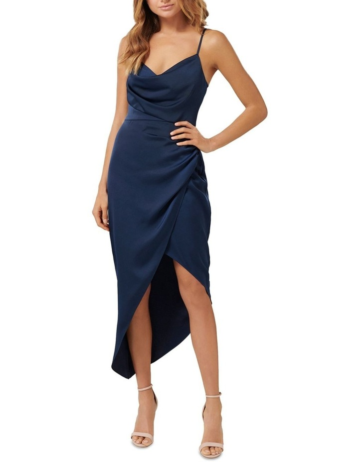 Kahlia Asymmetric Cowl Neck Dress image 1