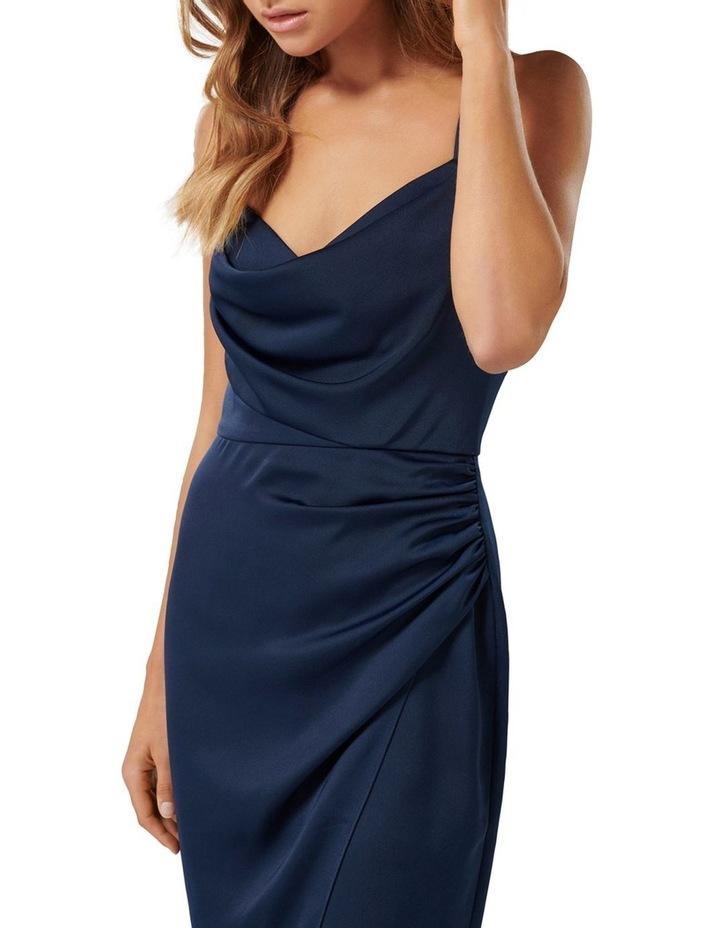 Kahlia Asymmetric Cowl Neck Dress image 2