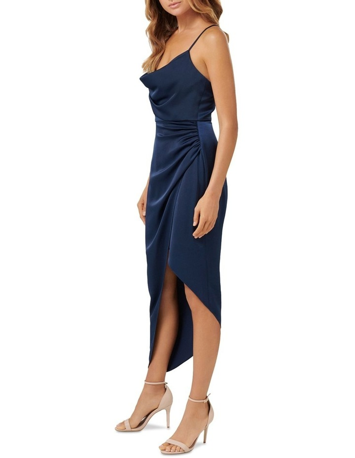 Kahlia Asymmetric Cowl Neck Dress image 3
