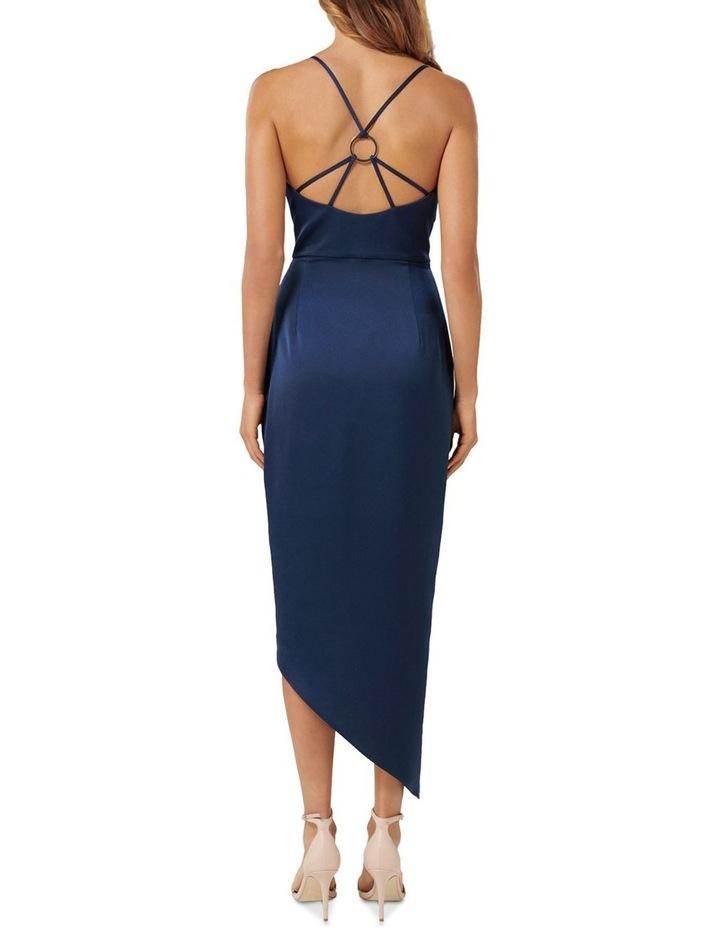 Kahlia Asymmetric Cowl Neck Dress image 4