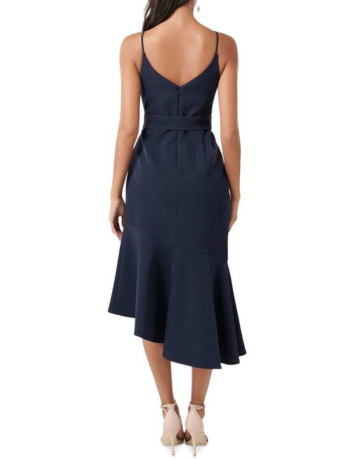 Isabella Petite Belted Ruffle Hem Dress image 4