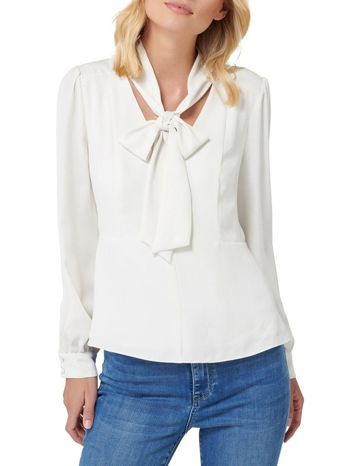 Tamika Slim Tie Neck Blouse image 1