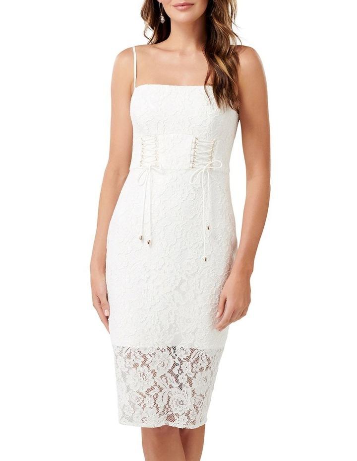 Emma Corset Front Lace Bodycon Dress image 1