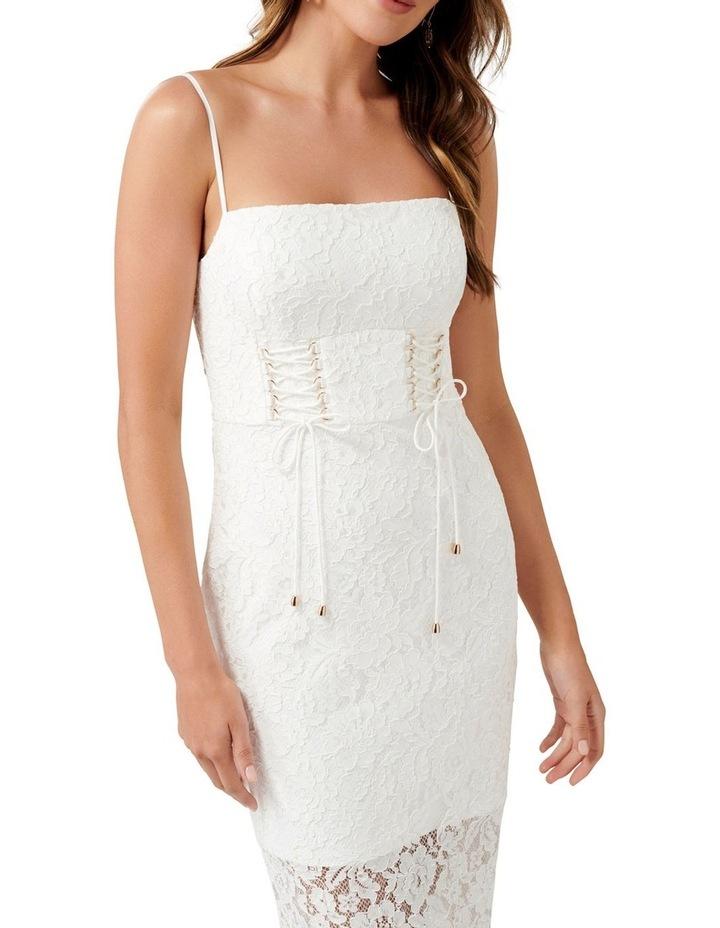 Emma Corset Front Lace Bodycon Dress image 2