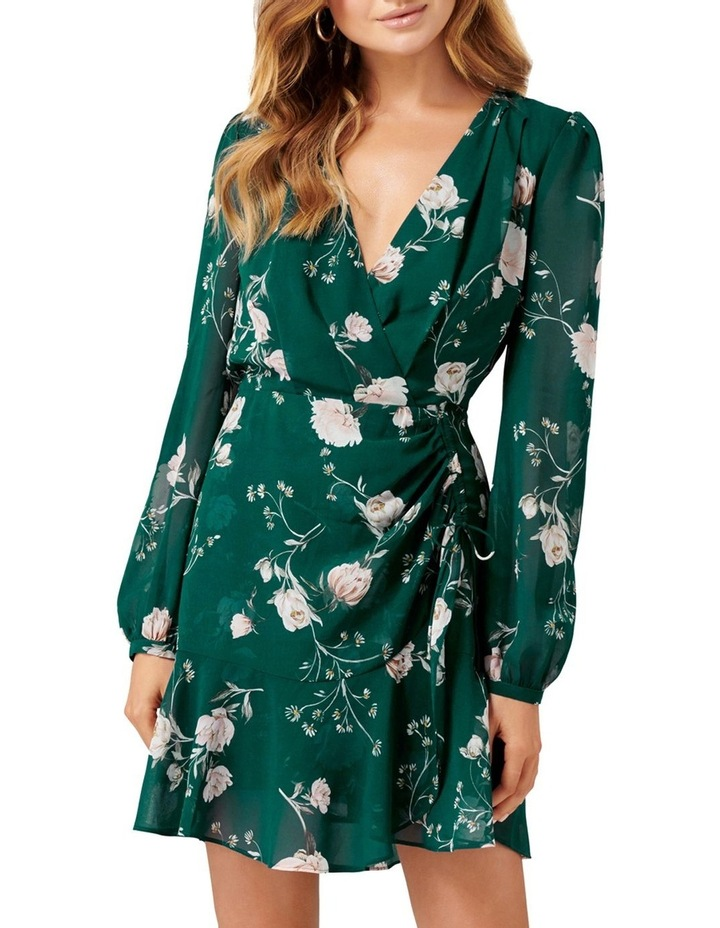 Eleanor Rouched Mini Dress image 1
