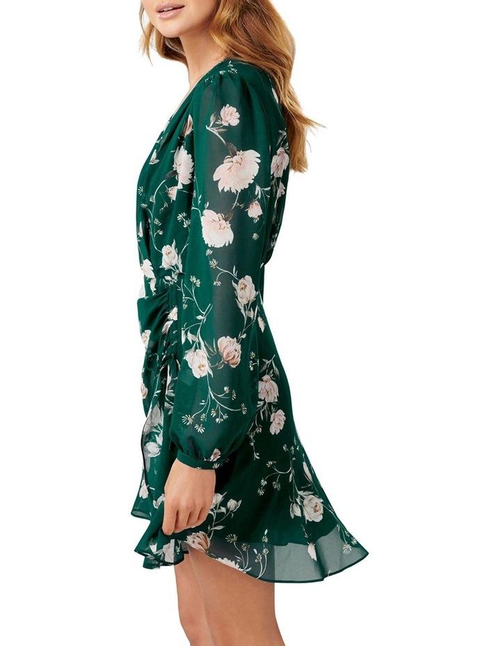 Eleanor Rouched Mini Dress image 3
