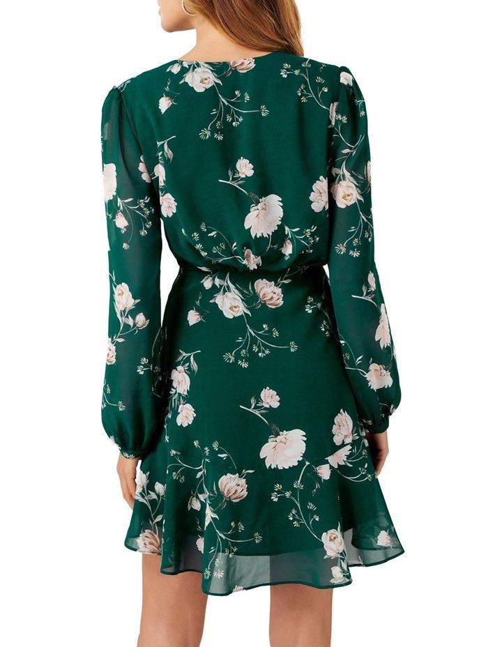 Eleanor Rouched Mini Dress image 4