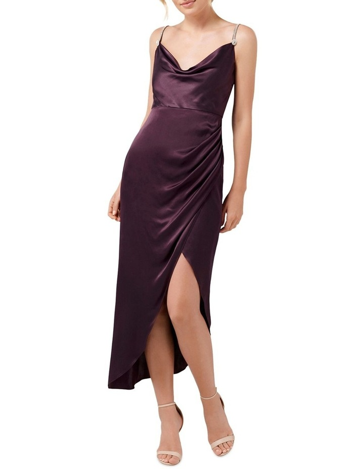 Juliette Trim Cowl Neck Midi Dress image 1