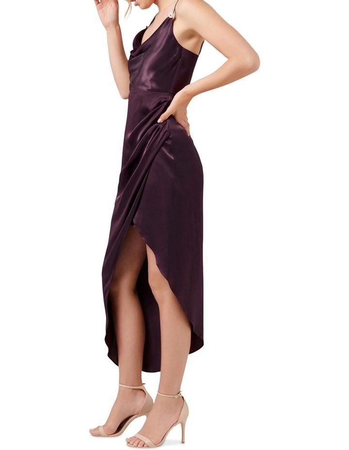 Juliette Trim Cowl Neck Midi Dress image 3