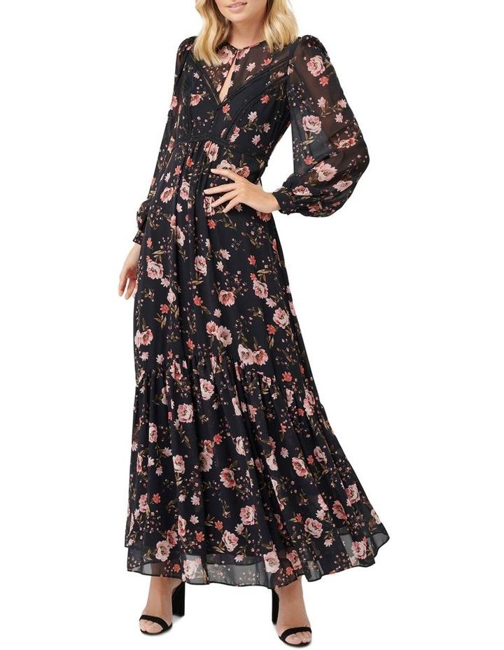 Celeste Floral Print Maxi Dress image 1