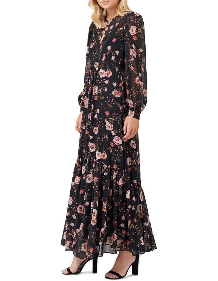 Celeste Floral Print Maxi Dress image 3