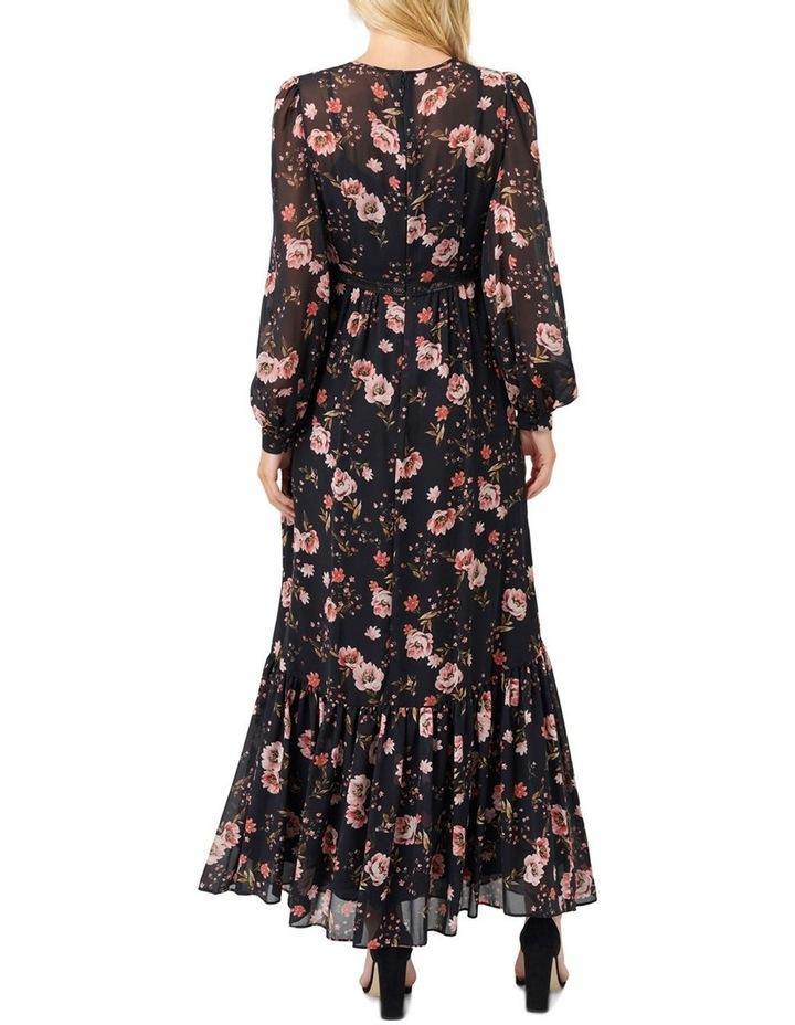 Celeste Floral Print Maxi Dress image 4