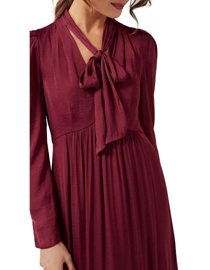 Vicky Tie Neck Hanky Hem Dress image 2