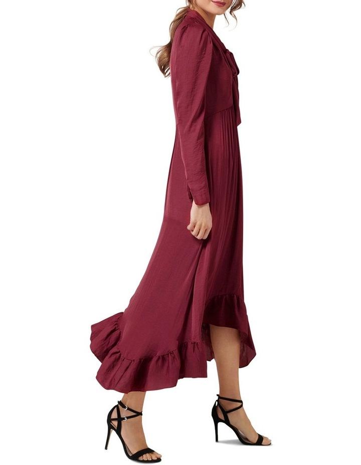 Vicky Tie Neck Hanky Hem Dress image 3