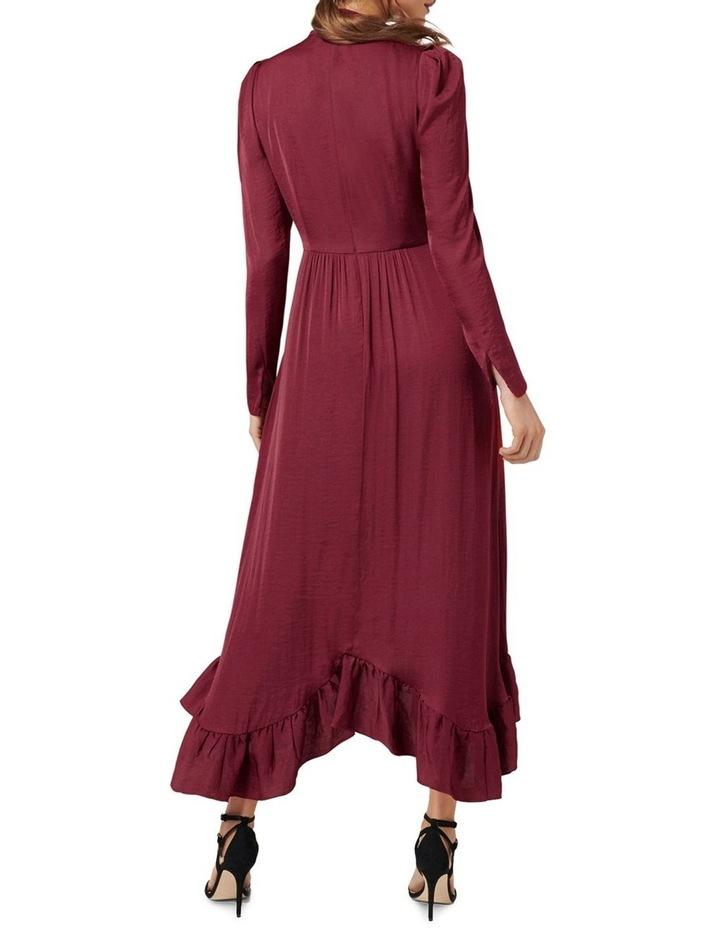Vicky Tie Neck Hanky Hem Dress image 4
