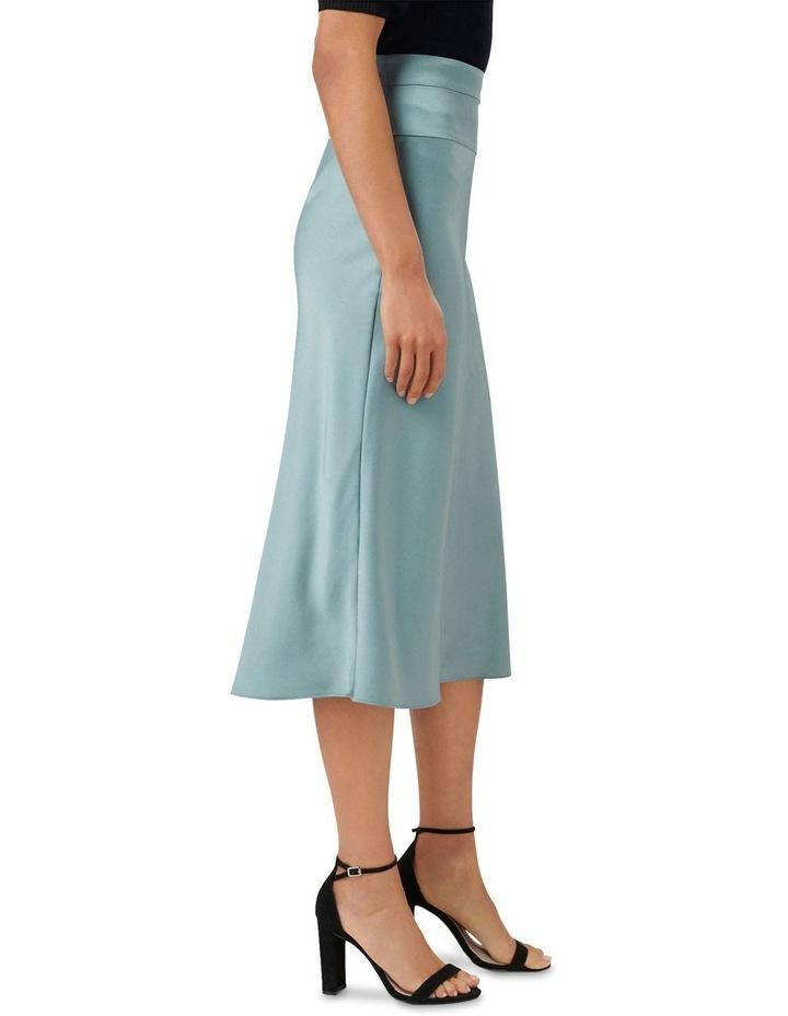 Livia Petite Satin Slip Skirt image 2