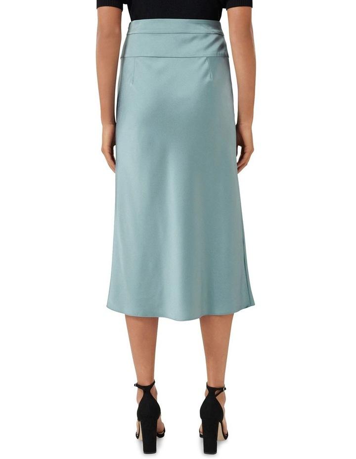 Livia Petite Satin Slip Skirt image 3