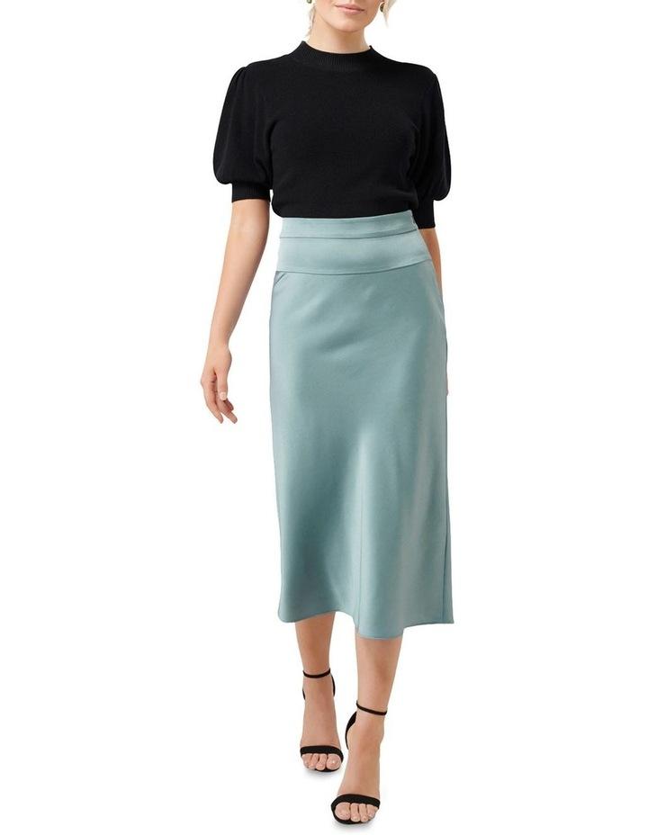 Livia Petite Satin Slip Skirt image 4