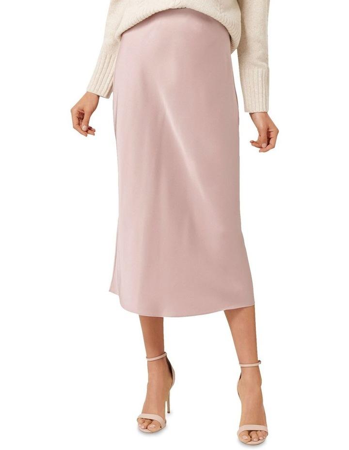Bianca Satin Slip Skirt image 1