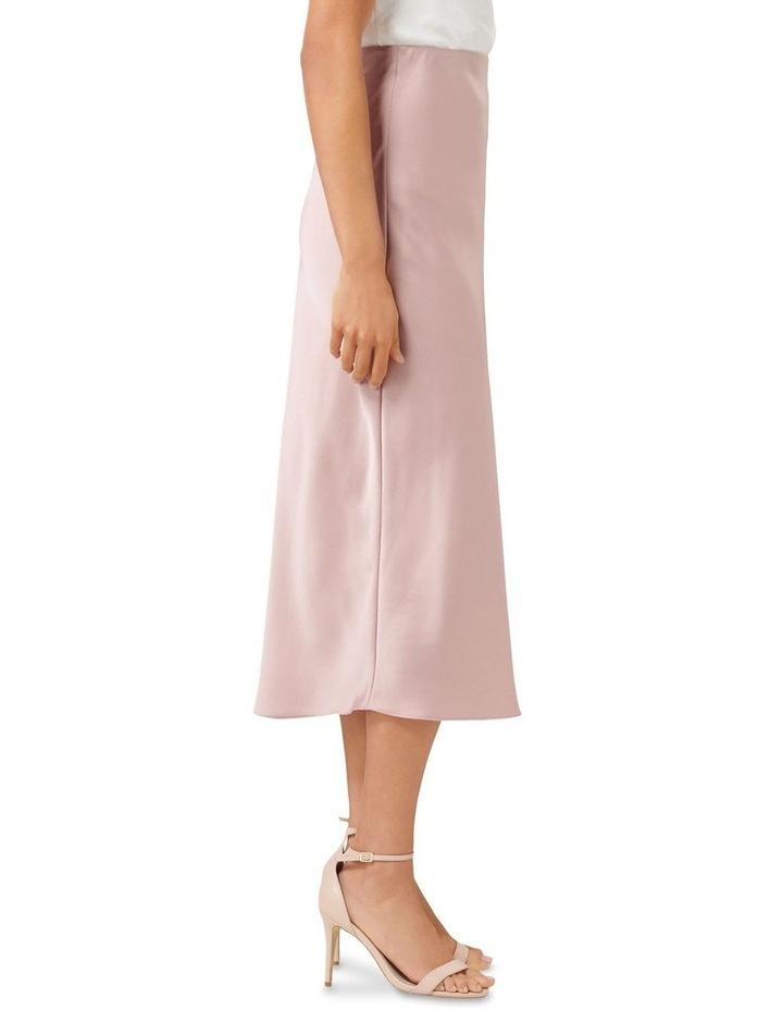 Bianca Satin Slip Skirt image 2