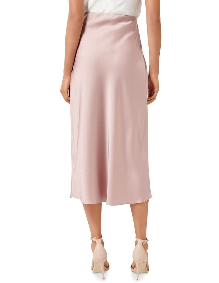 Bianca Satin Slip Skirt image 3