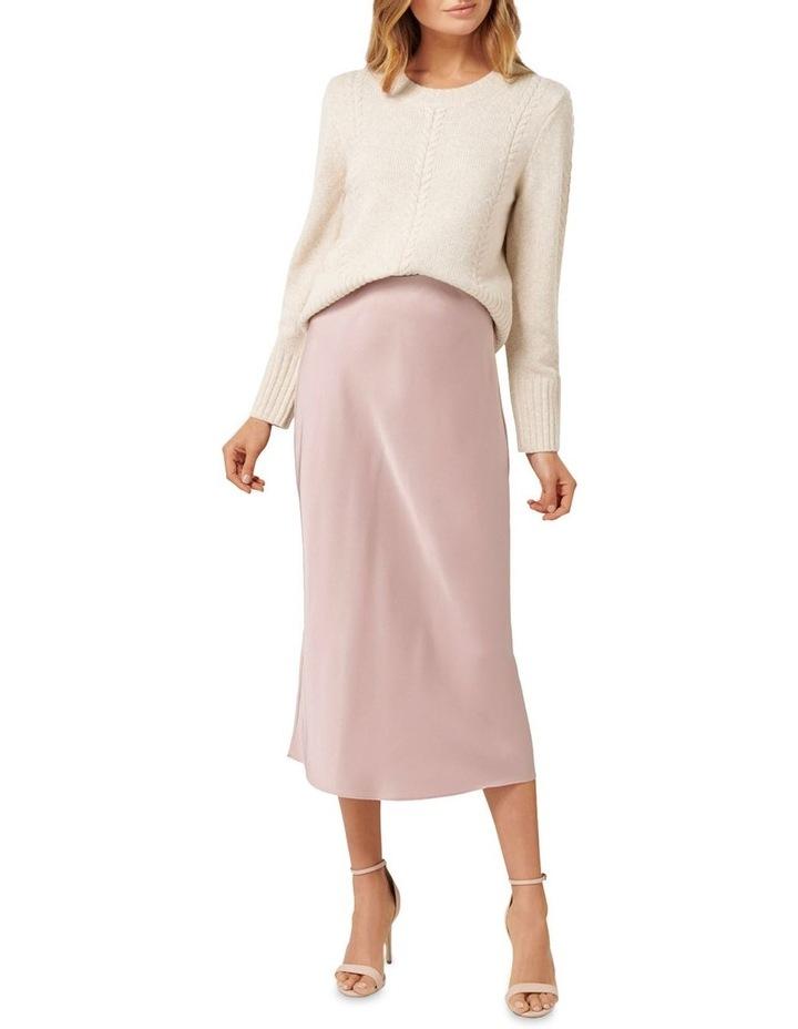 Bianca Satin Slip Skirt image 4