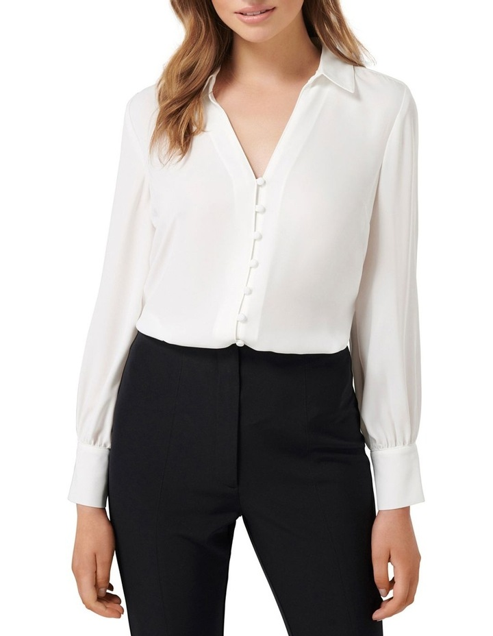 Larissa Button Front Relaxed Blouse image 2