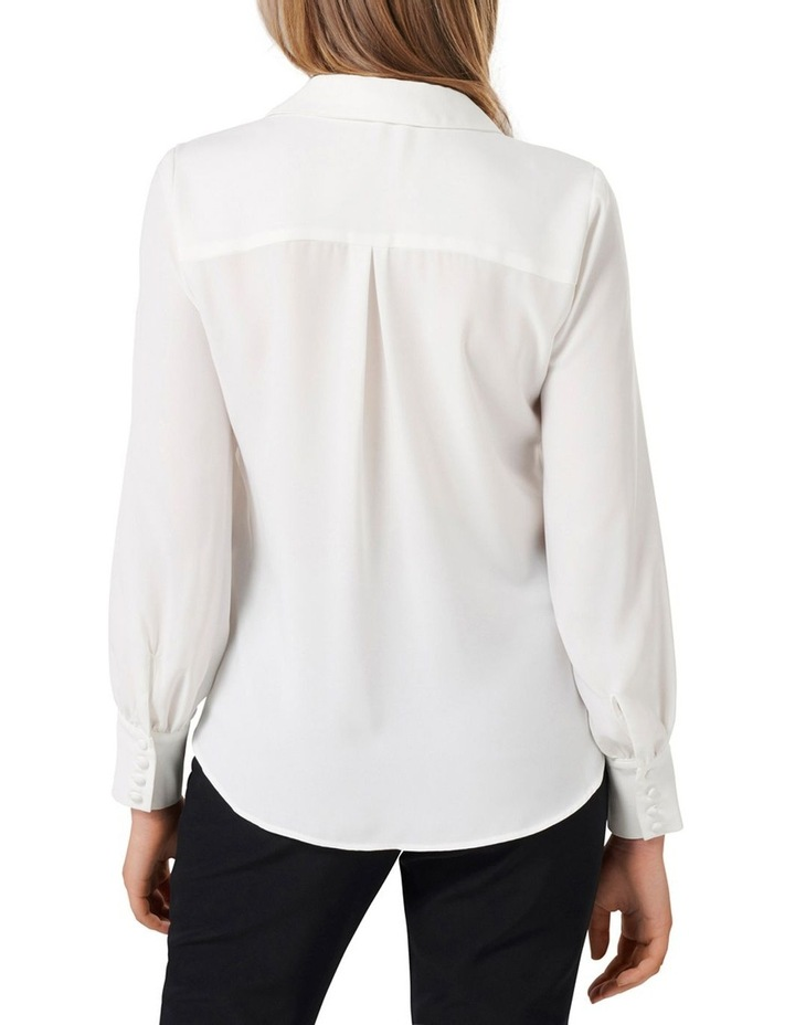 Larissa Button Front Relaxed Blouse image 4